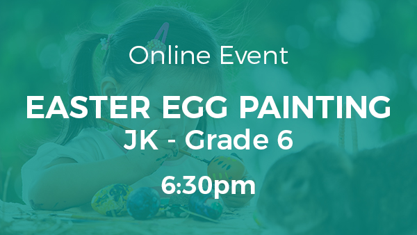 Easter Egg Painting Night