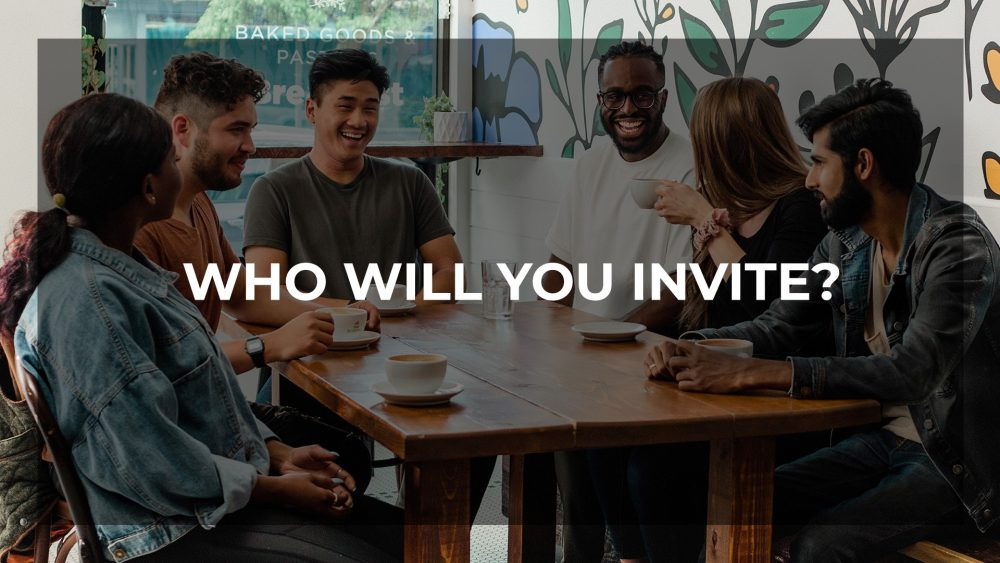 Who will you invite? Image