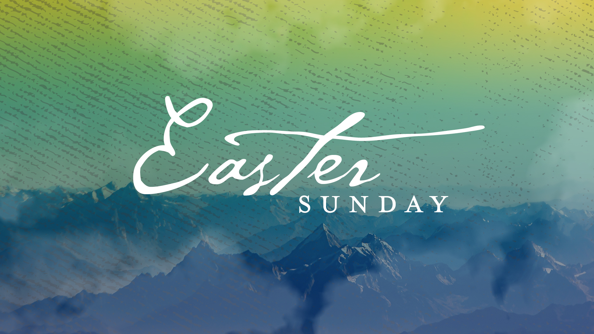 Easter Sunday 2020 Image
